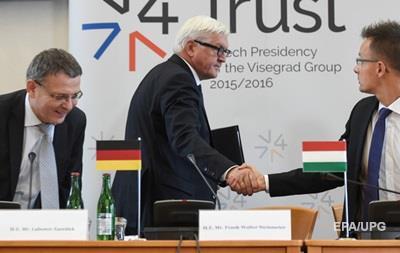 Вышеградская четверка против квот ЕС по приему беженцев
