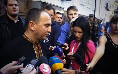 Суд арестовал  свободовца  Сиротюка на два месяца