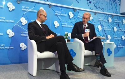 Яценюк все еще ждет оружие Запада