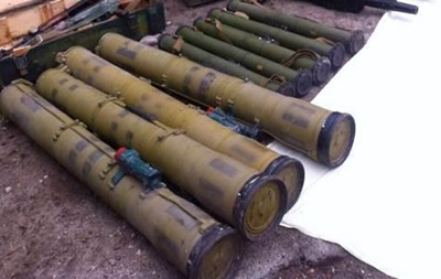 На Луганщине найден один из крупнейших тайников оружия за время АТО