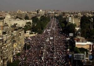 В Египте продолжаются демонстрации против президента