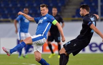 Днепр ушел от поражения в матче с Лацио