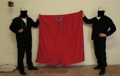 В Чехии хулиганы заменили президентский штандарт красными трусами