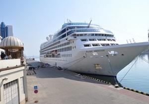 Одесский порт посетил всемирно известный лайнер