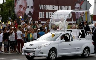 Папа римский встретился с Фиделем Кастро