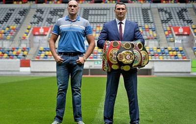 Бой Кличко - Фьюри: Боксеры встретятся 23 сентября