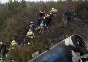 Источник: Экипаж разбившегося Як-42 не сообщал диспетчеру о технических проблемах