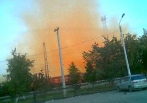 В Челябинске произошла крупная утечка брома