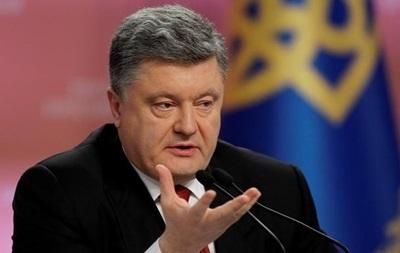 Порошенко: Более 60% украинцев поддерживают вступление в НАТО