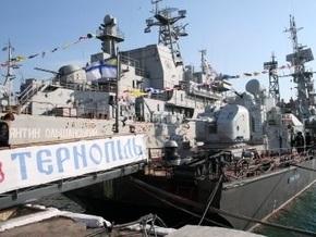 Корвет Тернопіль, принимавший участие в операции НАТО, возвращается в Севастополь