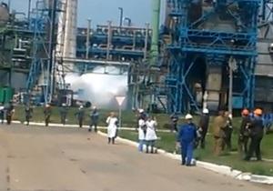 новости Донецкой области - Стирол - Горловка - Газета: работники завода Стирол не удивлены выбросу аммиака