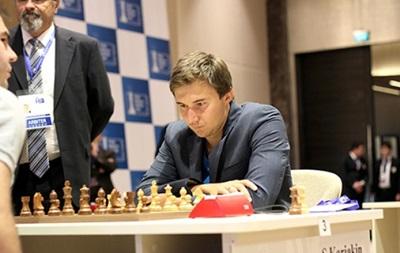 Шахматы: Украинец Эльянов в полуфинале Кубка мира встретится с Карякиным