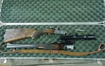 Госпогранслужба задержала француза с арсеналом охотничьего оружия