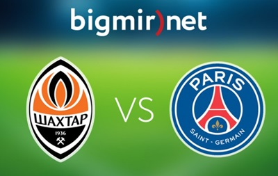 Шахтер - ПСЖ 0:3 Онлайн трансляция матча Лиги чемпионов