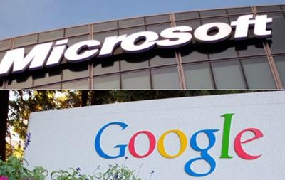 Microsoft и Google договорились больше не вести патентные войны