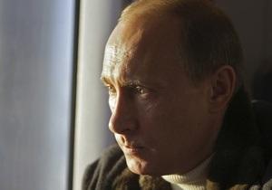 У машины, в которой ехал Путин, лопнуло колесо