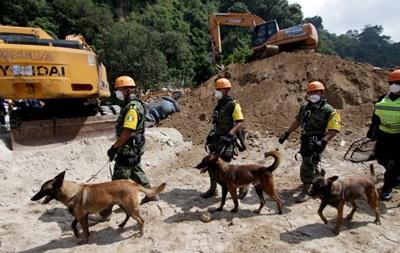 В Гватемале выросло число жертв оползня
