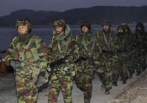 Южная Корея начала масштабные военные учения