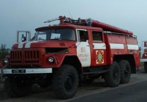 В Луганской области сгорели около 20 га сухой травы, спасены два человека