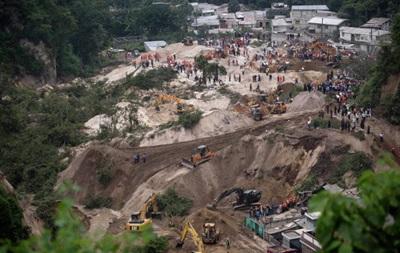 Число жертв оползня в Гватемале приближается к 190
