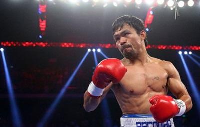 Пакьяо собирается уйти из бокса