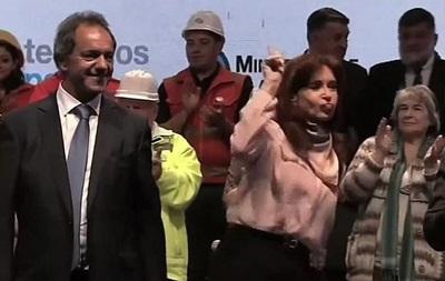 Президент Аргентины продемонстрировала танец на митинге