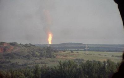 В Полтавской области прорвало газопровод
