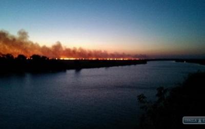 Пожар под Одессой