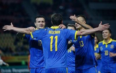 Украина отправила в ворота Македонии два  сухих  мяча