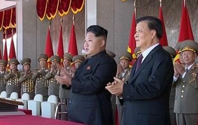 В КНДР начался масштабный военный парад