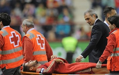 Испания перед визитом в Украину потеряла двух игроков основы