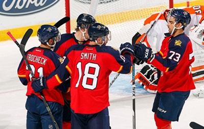 NHL: Сухие победы Сан-Хосе и Нэшвилла, фиаско Филадельфии