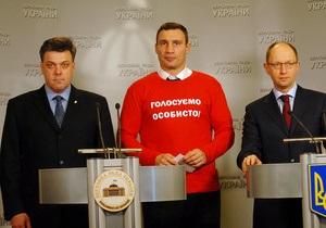 Рейтинг Кличко как единого кандидата в мэры Киева вдвое выше, чем у Попова - опрос
