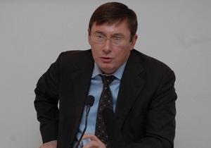 Луценко: Отставка Черновецкого - благо для Киева