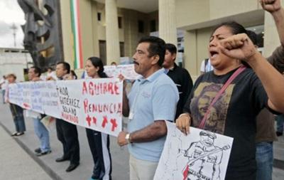 В Мексике за протесты оштрафованы 85 тысяч учителей