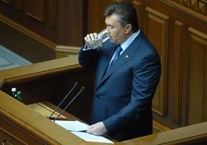 Янукович: Уровень наркомании приобрел характер национальной угрозы