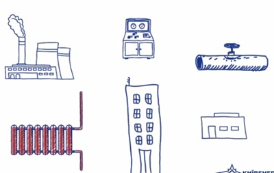 Киевэнерго сняло видео, как непросто согревать квартиры в столице