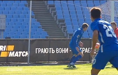 Курьезная ошибка вратаря Стали привела к голу Селезнева