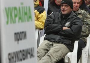 Батьківщина собрала миллион подписей за досрочные выборы Президента и Рады