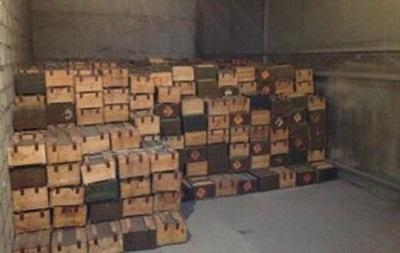 В Запорожье СБУ изъяла крупную партию боеприпасов