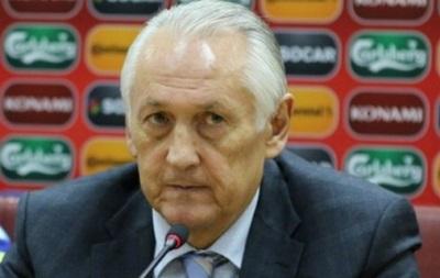 Контракт Фоменко со сборной Украины рассчитан до 30 ноября
