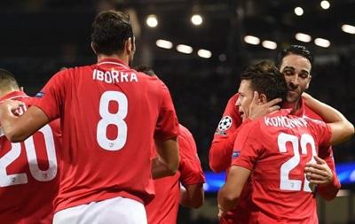 Лига чемпионов: Гол Коноплянки, ничья Реала с ПСЖ в Париже
