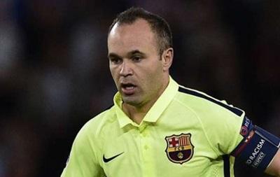 Иньеста может вернуться на поле уже в ближайшем матче Барселоны