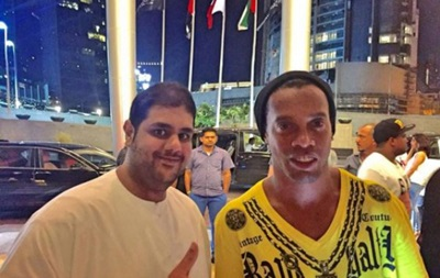 Роналдиньо две ночи подряд гулял в ночном клубе в Дубае