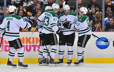 NHL: Пятая кряду победа Далласа, восьмое поражение Коламбуса