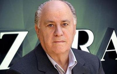 Основатель Zara признан самым богатым человеком в мире