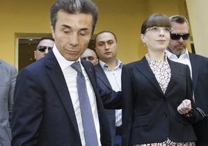 Лидер грузинской оппозиции отказался голосовать на выборах в парламент
