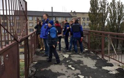 ОБСЕ впервые с лета посетила Дебальцево