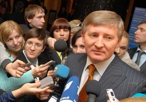 Ахметов сомневается в создании новой коалиции