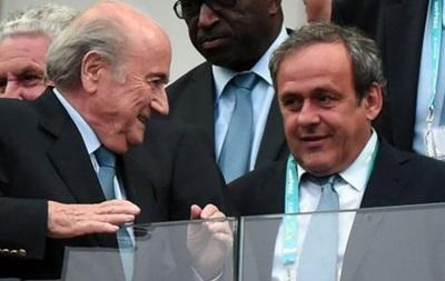Блаттер: Скандал у ФІФА затіяв Платіні